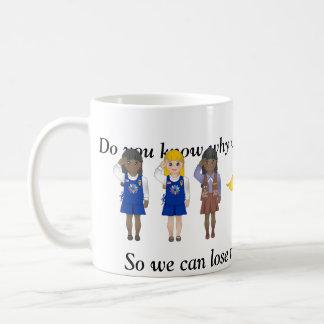 Leader Humor Classic White Coffee Mug