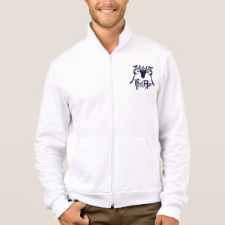 Leader of the Free Age White Fleece Jacket