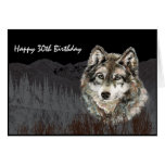 Leader of the Pack Birthday Humor Wolf Animal Greeting Cards