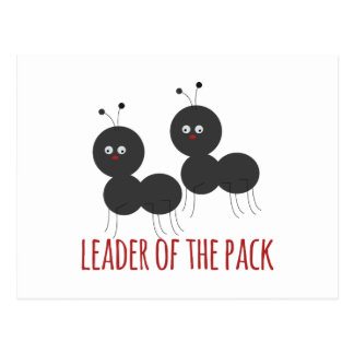 Leader of the Pack Postcard
