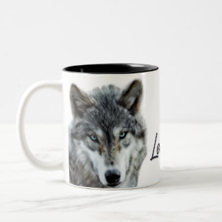 Leader of the Pack Wolf Mug