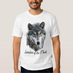 Leader of the Pack Wolf Shirt