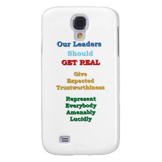 Leaders GET REAL Samsung Galaxy S4 Case
