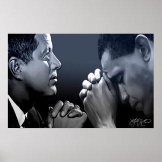 Leaders In Prayer Poster