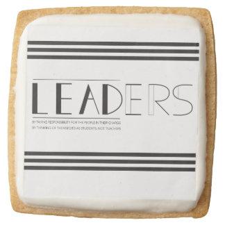 Leaders Lead Treat Square Shortbread Cookie
