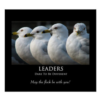 LEADERS - Motivational Poster