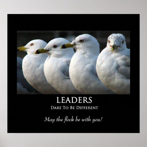 LEADERS - Motivational Poster