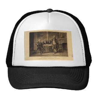 Leaders of the Continental Congress by A Tholey Mesh Hat