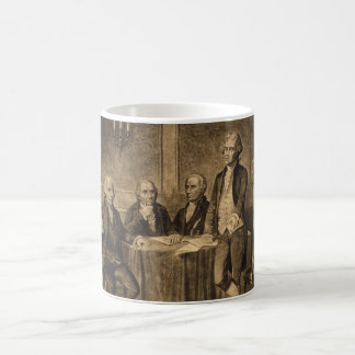 Leaders of the Continental Congress by Tholey Classic White Coffee Mug