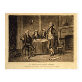 Leaders of the Continental Congress by Tholey Postcard