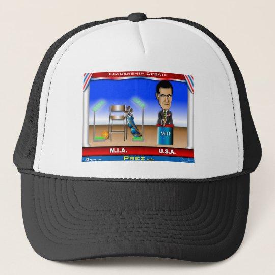 Leadership Debate Trucker Hat