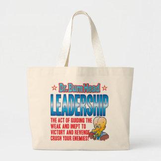 LEADERSHIP Dr Bum Head Bag