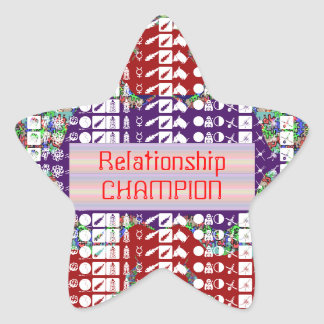 Leadership Giveaways : Editable Text n Text Color Star Sticker