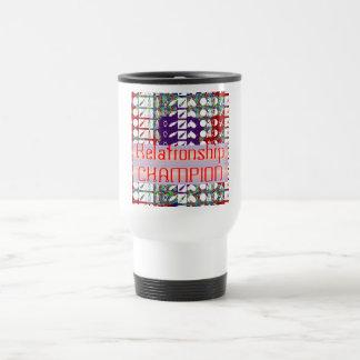 Leadership Giveaways : Editable Text n Text Color Travel Mug