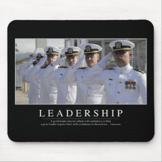 Leadership: Inspirational Quote Mouse Pad