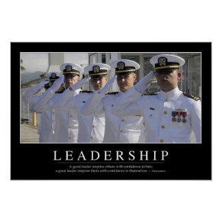 Leadership: Inspirational Quote Poster