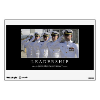 Leadership: Inspirational Quote Wall Decal