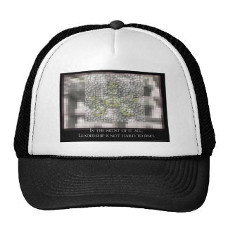 Leadership is not hard to Find Trucker Hat