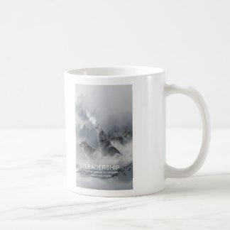 leadership motivational inspirational quote coffee mug