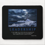 "Leadership Mousepad<br><div class=""desc"">&quot;A true leader shows others the way to go forward and enables them to do so by giving them hope regardless of the current situation.&quot; -Lincoln Patz</div>"