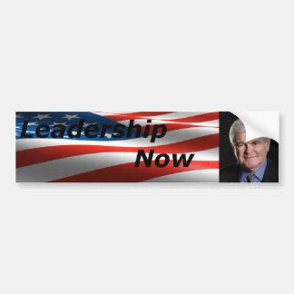 Leadership Now Bumper Sticker