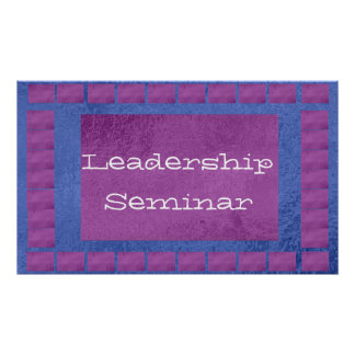 Leadership : Replace your img text Center Piece Posters