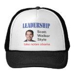 Leadership: Scott Walker style Trucker Hat