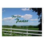 Leading Many Pastor Appreciation Card