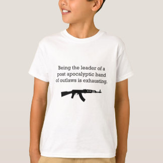 Leading Post Apocalyptic Outlaws T-Shirt
