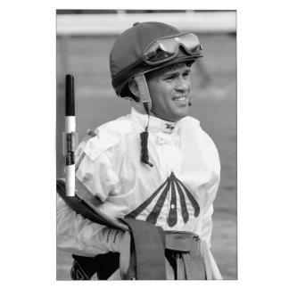 """Leading Rider at Saratoga"" Dry Erase Board"