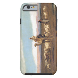 Leading the Flock to Pasture (oil on canvas) Tough iPhone 6 Case
