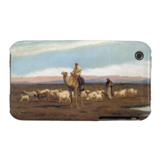 Leading the Flock to Pasture (oil on canvas) iPhone 3 Cover