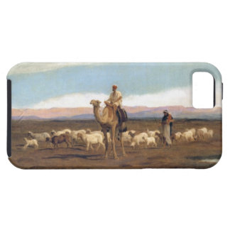 Leading the Flock to Pasture (oil on canvas) iPhone SE/5/5s Case