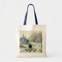 Leading the Sheep Tote Bag