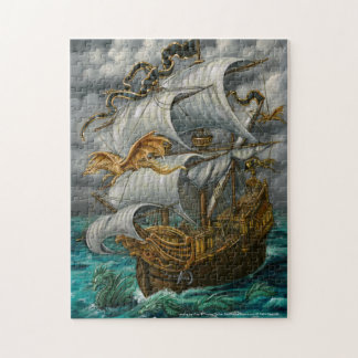 Leading the Way Pirate Ship and Dragons Puzzle