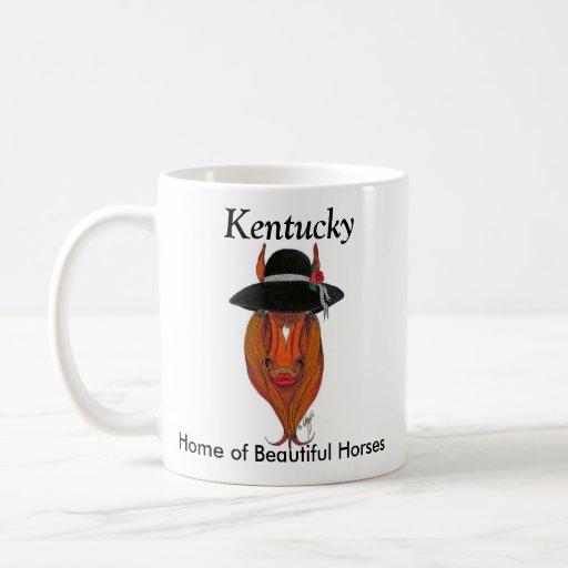 LeadingLady2, Kentucky, Home of Beautiful Horses Coffee Mug