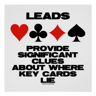 Leads Provide Significant Clues About Key Cards Poster