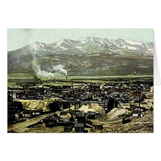 Leadville, Colorado Birdseye View Card