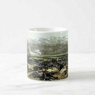 Leadville, Colorado Birdseye View Classic White Coffee Mug
