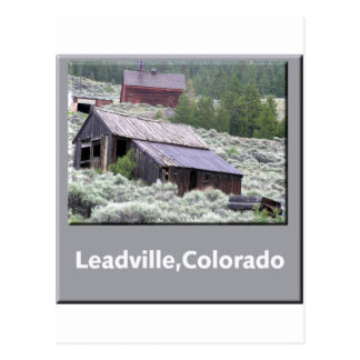 Leadville, Colorado Ghost Town Postcard