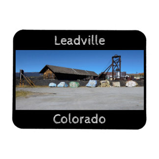 Leadville Colorado Magnet