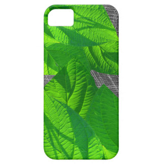 Leaf Abstract on Weave iPhone 5 Case