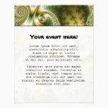 Leaf And Gold - Fractal Art Flyer