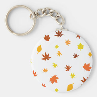 leaf and Maple Keychain