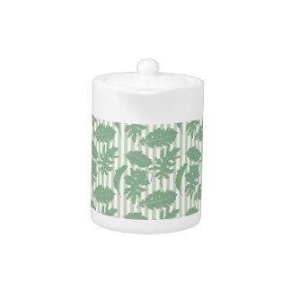 Leaf and Stripe Designer Pattern