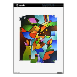 Leaf and Vase Decal For The iPad 2