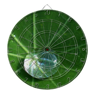 Leaf and Water Drop Dart Board