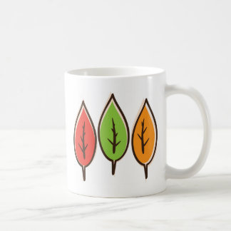 Leaf Art Mugs