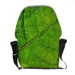 leaf bag courier bag
