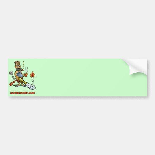 Leaf Blower Man! Bumper Sticker